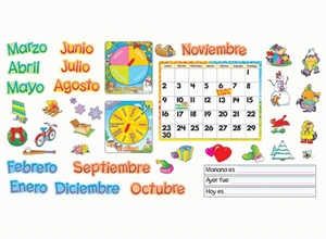 Picture of Calendario Mensuel Large Display Set