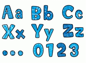 Picture of Designs in Blue Designer Letters