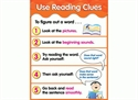 Picture of Use Reading Clues Learning Chart