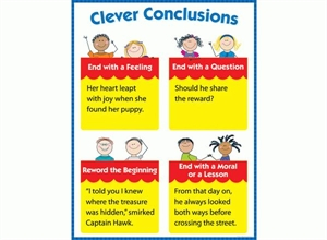 Picture of Clever Conclusions Learning Chart