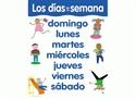 Picture of Los Dias De Le Semana Spanish Basic Skills Learning Chart