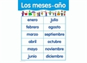 Picture of Los Meses Del Ano Spanish Basic Skills Learning Chart
