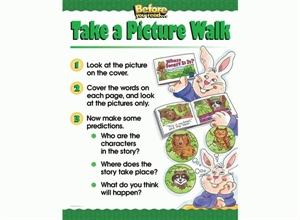 Picture of Take a Picture Walk (Animals) Learning Chart