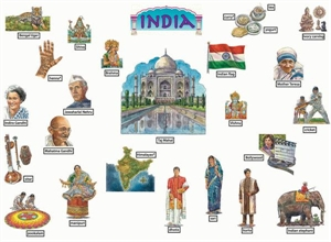 Picture of India Large Display Set