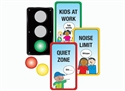 Picture of Classroom Traffic Light Display Set