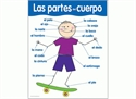 Picture of Las Partes del Cuerpo Spanish Basic Skills Learning Chart