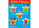 Picture of 5-Star Listener Learning Chart