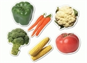 Picture of Vegetables Designer Cut-Outs