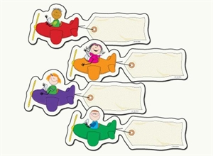 Picture of Stick Kids Airplanes Designer Cut-Outs