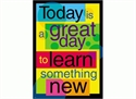 Picture of Today is a Great Day to Learn Learning Chart