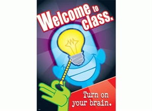 Picture of Welcome to Class Motivational Chart