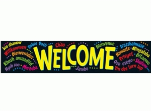 Picture of Welcome Banner