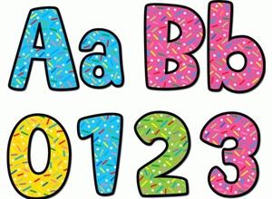 Picture of Sprinkles Designer Letters
