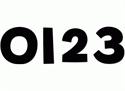 Picture of Black Designer Numbers