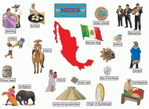 Picture of Mexico Large Display Set