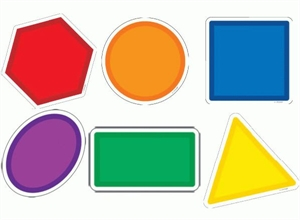 Picture of Geometric Shapes Designer Cut-outs