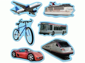 Picture of Transportation Designer Cut-outs
