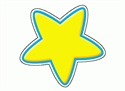 Picture of Gold Stars Designer Cut-outs