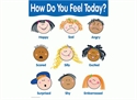 Picture of How do you feel today? Learning Chart