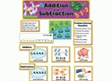 Picture of Addition and Subtraction Display Set