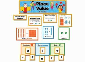 Picture of Place Value - 1s, 10s, 100s Display Set