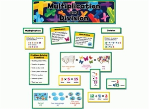 Picture of Multiplication and Division Display Set