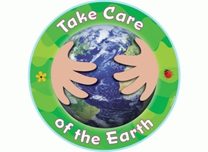 Picture of Take Care of the Earth Cut-outs