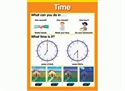 Picture of Time Learning Chart