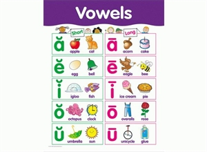 Picture of Vowels Learning Chart