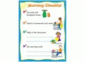 Picture of Morning Routine Classroom Essentials Chart
