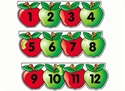 Picture of Apple Number Line Display Set