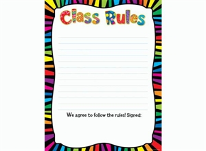 Picture of Class Rules Classroom Essentials Chart