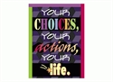 Picture of Your Choice is Your Actions, Your Life Motivational Chart