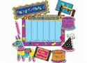 Picture of Poppin' Patterns Birthday Large Display Set