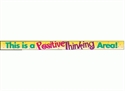 Picture of This is a Positive Thinking Area Banner