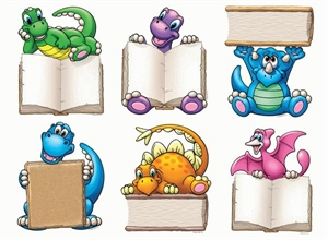 Picture of Dino-Mite Readers Cut-outs