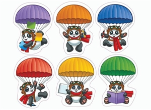 Picture of Panda Pals Cut-outs
