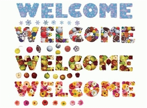 Picture of Seasonal Welcome Large Display Set