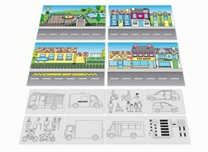 Picture of Road Safety Large Display Set