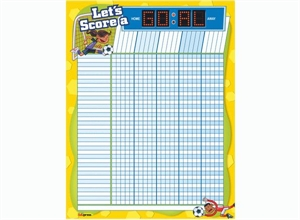Picture of Let's Score a Goal Incentive Chart
