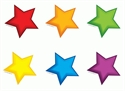 Picture of Colourful Stars Mini Cut-outs