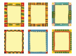 Picture of Multicultural Frames Cut-outs