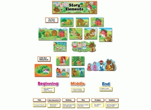 Picture of Story Elements Display Set