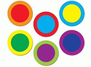 Picture of Poppin' Patterns Dots Jumbo Cut-outs