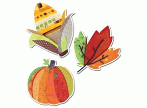 Picture of Autumn Harvest Jumbo Cut-outs