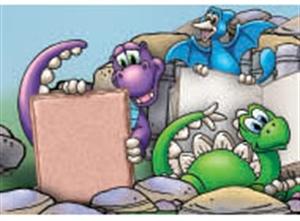 Picture of Dino-Mite Readers Spotlight Border