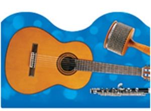 Picture of Musical Instruments Border