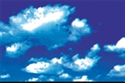 Picture of Puffy Clouds Border