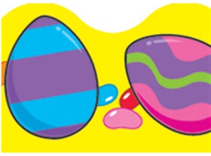 Picture of Easter Eggs Border