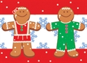 Picture of Gingerbread People Border